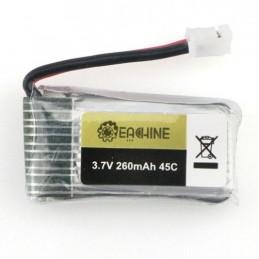 Li-Po 260mAh 1S 3.7V 45C mini prise pour E010