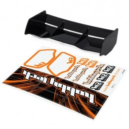 Spoiler buggy Racing black HTR 1/8 + stickers HobbyTech