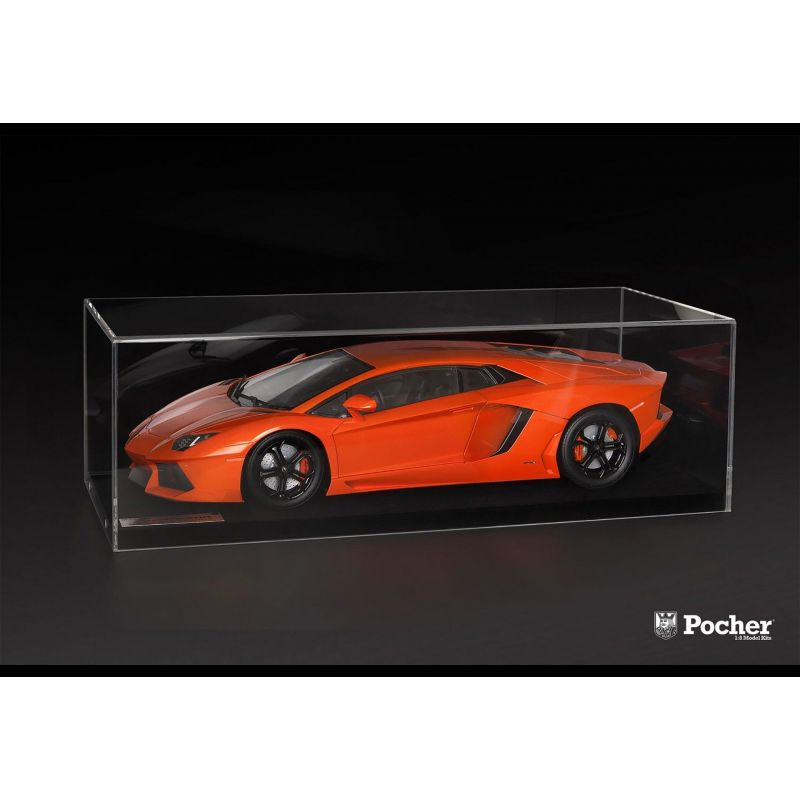 vitrine transparente pour voiture 1 8 pocher hk200. Black Bedroom Furniture Sets. Home Design Ideas