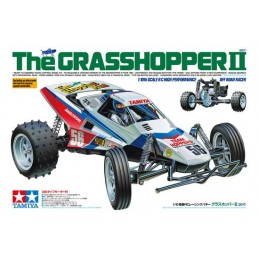 The Grasshoper II (2017) Kit RTR Combo Tamiya