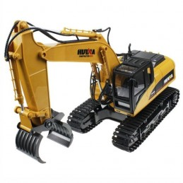 Backhoe with grab metal 1/14 RC 2.4 GHz - HuiNa