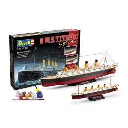 R.M.S Titanic 1/700 et 1/1200 + peintures Revell