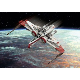 ARC-170 Fighter Star Wars 1/160 + Revell paints