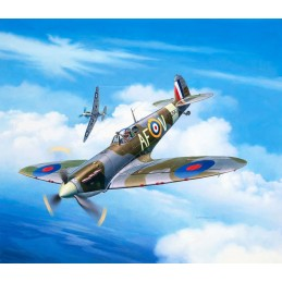 Spitfire Mk.IIa 1/72 + Revell paints