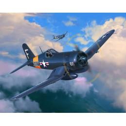 F4U-4 Corsair 1/72 + Revell paints