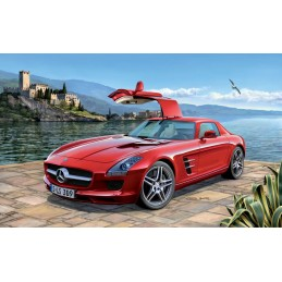 Mercedes-Benz SLS AMG 1/24 + paintings Revell
