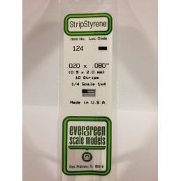 Baguette 0.50x2.0x350mm Ref : 124 - Evergreen