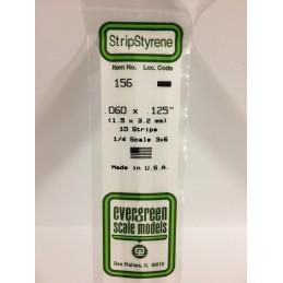 Baguette 1.5x3.2x350mm Ref : 156 - Evergreen