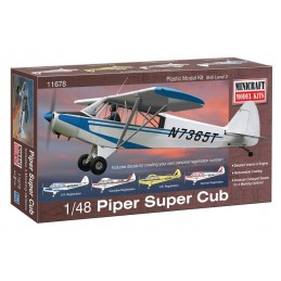 Piper Super Cub Minicraft 1/48