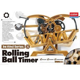 Rolling Ball Timer Léonard De Vinci Academy