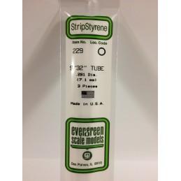 Tube round 7.1x350mm Ref: 229 - Evergreen