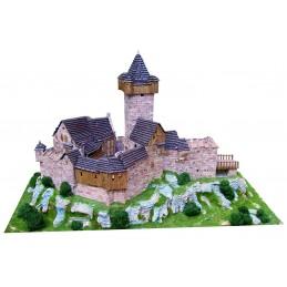 Chateau Burg Falkenstein (Autriche) 7000pcs maquette en céramique Aedes