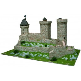 Castle of Foix (France) 7500pcs comp ceramic Aedes