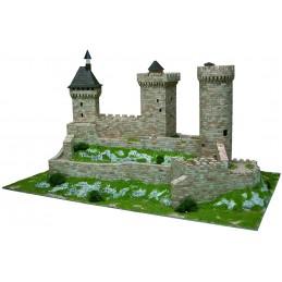 Chateau de Foix (France) 7500pcs maquette en céramique Aedes