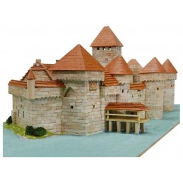 Castle of Chillon (Switzerland) 8900pcs comp ceramic Aedes