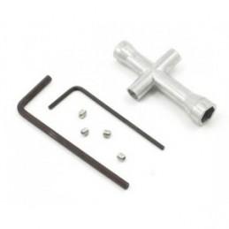 Croix-clé à douille clé pour RC Voiture//Buggy 4 mm 7 mm 1//10 1//16 1//18 5 mm 5.5 mm