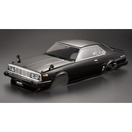 Carrosserie Nissan Skyline 2000 Turbo GT-ES noire 1/10 195mm Killerbody