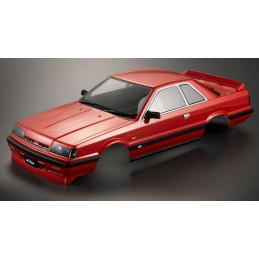 Carrosserie Nissan Skyline R31 rouge 1/10 195mm Killerbody