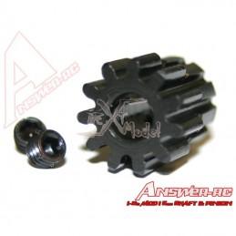 Pignon moteur acier 13 dents 1/8 Answer