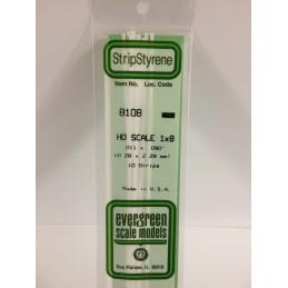 Baguette HO 0.3x2.3x350mm Ref : 8108 - Evergreen