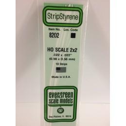 Baguette HO 0.6x0.6x350mm Ref : 8202 - Evergreen