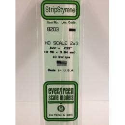 Baguette HO 0.6x0.8x350mm Ref : 8203 - Evergreen