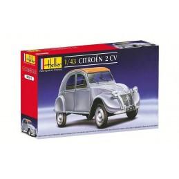 Citroën 2CV classique 1/43 Heller