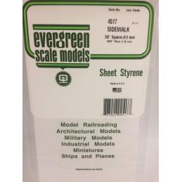 Grid plate 1.0x9.5x150x300mm Ref: 4517 - Evergreen