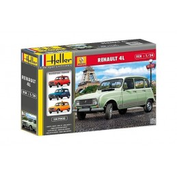 Renault 4 GTL Heller 1/24 L