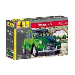 Citroën 2 CV 1/24 Heller