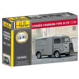 Citroën van HY 1/24 Heller