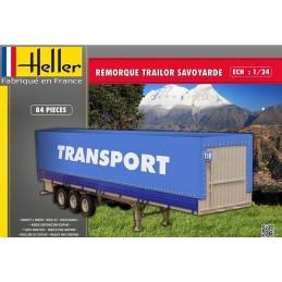 Remorque Trailer Savoyarde 1/24 Heller
