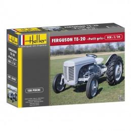 """Tracteur Ferguson """"PETIT GRIS"""" 1/24 Heller"""
