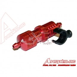 Filter large gasoline + supp alu red Answer