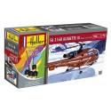 Alouette III Sécurité Civile 1/72 Heller + colle et peintures