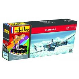 Alouette III EP 1/72 Heller + glues and paints