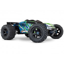 E - Revo Brushless V2 TQi TSM ID (without battery) RTR Traxxas VXL