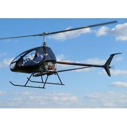 Baptême Découverte hélicoptère ULM Classe 6 pour 1 pers.