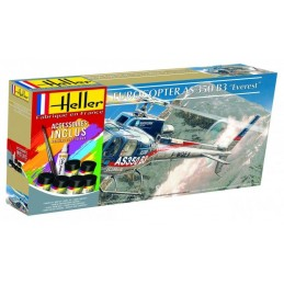 Eurocopter AS350 B3 Everest Heller 1/48 + glues and paints