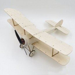 Sopwith Pup biplane 378mm balsa laser cutting