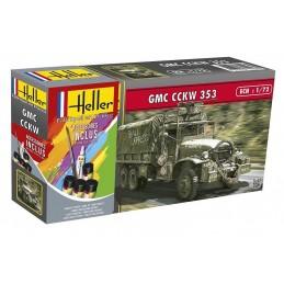 GMC CCKW 353 1/72 Heller + colle et peintures