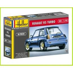 Renault R5 Turbo rally 1/43 Heller