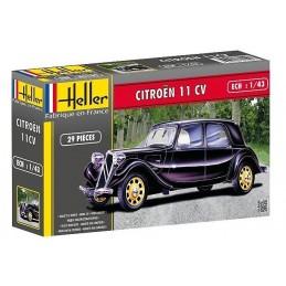 Citroën 11 CV 1/43 Heller + glues and paints