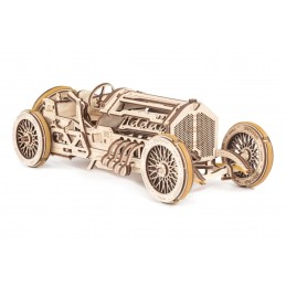 "Car U - 9 ""Grand Prix"" Puzzle 3D wood UGEARS"