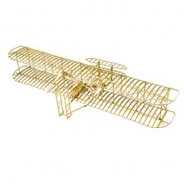 Wright Flyer - I 1/13 laser cutting wood, static model DW Hobby