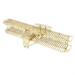 Wright Flyer-I 1/13 découpe laser bois, modèle statique DW Hobby