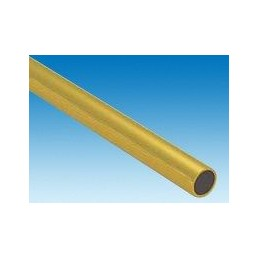 Tube brass 9.0 mm x 1 m