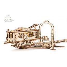 Line Tram Puzzle 3D wood UGEARS