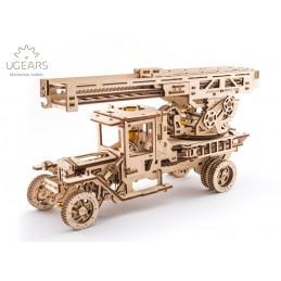Camion échelle Puzzle 3D bois UGEARS