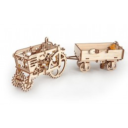Trailer Puzzle 3D wood UGEARS